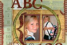 Scrapbooking Ideas / School year scrapbooks for grandchildren
