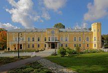 Kalsk - Pałac / Pałac w Kalsku z ośmioboczną wieżą został zbudowany na przełomie XVII i XVIII wieku, w XIX i na pocz. XX wieku został wzbogacony o skrzydło północne i południowe. W fasadzie elewacji znajduje się kamienna tablica z kartuszem, na którym umieszczony jest herb rodziny von Sydow. Po II wojnie światowej obiekt był użytkowany przez Skarb Państwa, następnie przez Rolniczy Zakład Doświadczalny. Obecnie jest siedzibą Wyższej Szkoły Zawodowej Administracji Publicznej w Sulechowie.