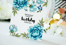 Cards Altenew Peony Boutiqu / by Aletta Heij
