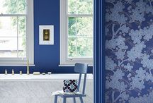 Feeling Blue / A board dedicated to blue interior decoration and design
