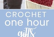 CROCHET ONE HOUR GIFTS.