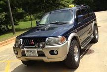 Used 2001 Mitsubishi Montero Sport for Sale ($5,800) at  Marietta , GA / Make:  Mitsubishi, Model:  Montero Sport, Year:  2001, Body Style:  SUV, Exterior Color: Blue, Interior Color: Silver, Doors: Four Door, Vehicle Condition: Good, Mileage:160,000 mi, Fuel: Gasoline, Engine: 6 Cylinder, Transmission: Automatic, Drivetrain: 2 wheeldrive.     Contact:970-343-0394   Car Id (57126)