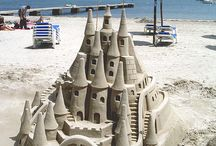 Secret Garden Party / Castle of Curiosity:   Sand castle underwater palace / by rose hughes