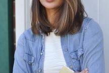 hair - mid length