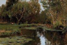 landschap water