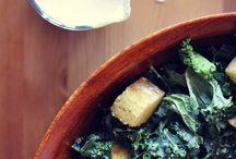 salads, dressings and soups / by Stacey Tunkkari