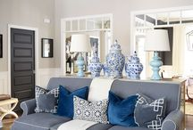 Decor Moments I Love / Beautiful decorated spaces throughout the house- ideas and inspiration