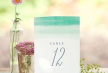 Table Numbers ♥ / Wedding Table Numbers ♥