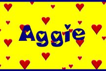 A IS FOR AGGIE / Its all about me, aggie (agnes lawver krause) i am just me, a woman of God, mother, Grandma, Great Grandma and taking one day at a time / by Agnes Krause