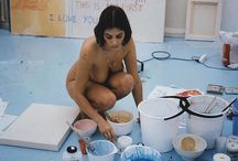 Tracey Emin / Tracey Emin RA (b.1963) Young British Artist, best known for her experimental drawings, paintings, installations. Now also known for her activities as a curator.