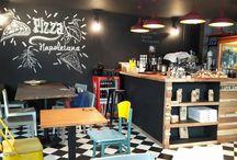Mulinello Caffe & Pizzeria / Mulinello Caffe & Pizzeria http://www.gezginnerede.com/2016/08/06/mulinello-caffe-pizzeria-istanbul-kiziltoprak/