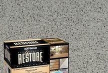 Patio concrete restore