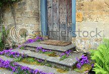 Ogród - schody