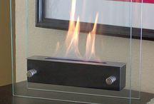 Flueless Gel Fuel Fire Place