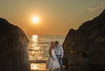 A kiss to build a dream on. Beautiful Lefkas Wedding / The best love is the kind that awakens the soul, that makes us reach for more, that plants the fire in our hearts and brings peace to our minds.