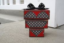 Decorations - Valentines / Wooden decorations for christmas