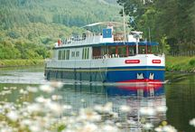Luxury Barging Cruises / Enjoy the luxury of decelerating on a luxury hotel ship and enjoy Europe's most beautiful landscapes, fascinating history and impressive local cultures. These hotel ships are the finest rebuilt and renovated former cargo ships that offer all possible comfort.