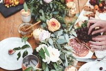 Table Floral Runner Inspiration