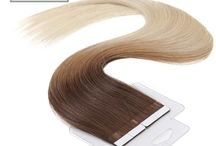 Tape In Ombre Human Hair Extensions