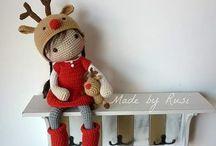 куклы амигуруми вязаные