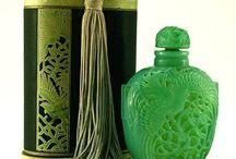 Lalique Crystal Perfume Bottles