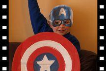 Superhero Costume Party