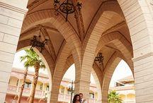 Свадьба в Египте / Утонченная пара молодоженов на выездной фотосессии в Шар-эль-Шейхе