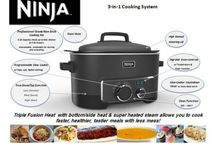Ninja cooking system recipes / by Lauren H