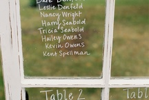 Wedding Placecards and Table #'s