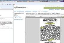 GENEALOGY...Tracking Research