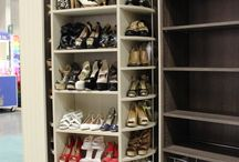 A dream closet every woman wants / The Revolving Closet Organizer is an Advanced Space Solution System, It will allow you to manage your space smart and officiant. It is trendy and fun. you could manage any s pace with our amazing system.