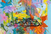 JU BARROS ART BRAZIL - ENLIGHTNED / ARTE CONTEMPORÂNEA - ARTWORK - VELADURA - GLAZING - PINTURAS - PAINTINGS
