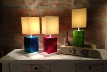 Lacquerware lamps / Lacquerware lamps in colorful metallic colors. Traditional yet with a modern edge.