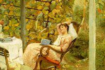 Festmények - kert, gyümölcs