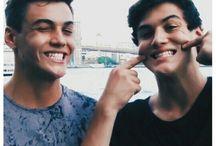Dolan twins smile