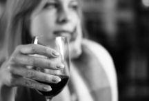 Women & Wine in Black & White