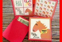Chinese New Year / To celebrate the year of the Horse!