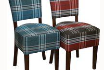 Pub Stuff Tartans / Fabulous Tartan Fabric on Pub Stuff furniture