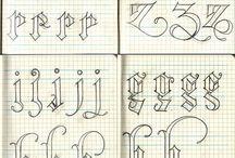 Typografia/Caligrafy