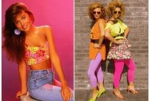 1980s Styles / 1980s fashion, beauty and products! And, a few 80s stars! / by Erin Dubrow