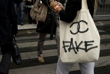 Faking It: Originals, Copies, And Counterfeits / Fashion can be imitated on so many different levels. http://exhibitions.fitnyc.edu/faking-it/