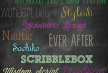 Fonts and printables / by Lesley McCollum