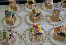 Gingerbread Man Theme / Christmas thematic fun for kindergarten math, reading, social studies, art, music, writing, and science.