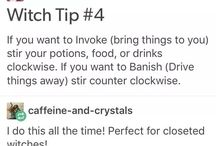witch tips
