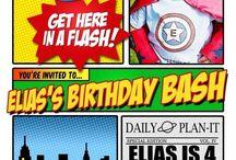 Super Hero Birthday / by Lahna Tran