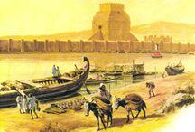 Древний восток. Передняя Азия / запечатленные исторические  моменты в жизни цивилизаций