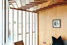 Soffitti e tetti a vista