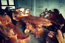 Natural product from teak Root / Natural Teak Root furnitur