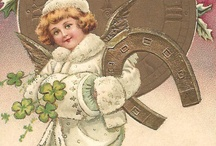 New year greeting cards / New year vintage cards / by Edwige Gendron