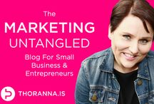 Marketing Untangled - the blog at thoranna.is / Check out the Marketing Untangled blog at thoranna.is where I blog about marketing strategy for small business and entrepreneurs, everything from your target groups, to your business competition, brand and branding, marketing communications and building a solid marketing system!  Everything you need to build a solid marketing program brought to you by the Icelandic Marketing Strategy Nerd for Small Business and Entrepreneurs! / by Thoranna Jonsdottir